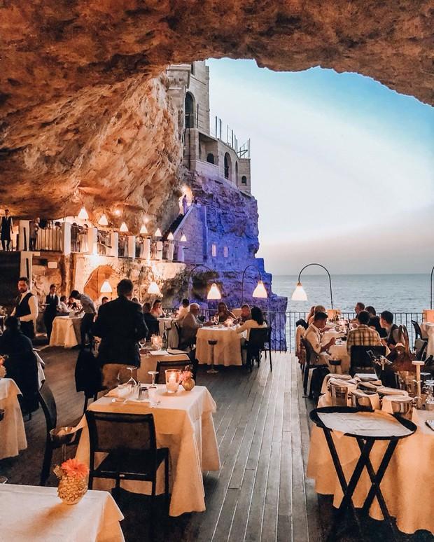 Nhà hàng trong hang động lãng mạn nhất nước Ý: Có khả năng gây mê cao cho bất kì cặp đôi nào hẹn hò tại đây - Ảnh 5.