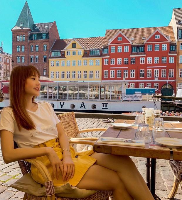 """Minh Hằng đăng hình ở thành phố đọc lướt qua """"hú hồn"""" tưởng... """"Cô Pé Nhà Bên"""", hoá ra lại là nơi đáng sống nhất trên thế giới - Ảnh 2."""