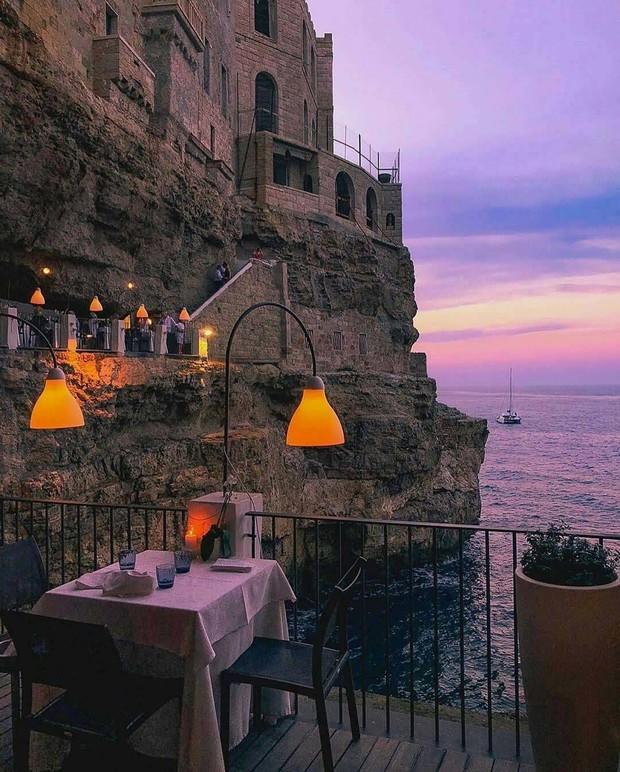 Nhà hàng trong hang động lãng mạn nhất nước Ý: Có khả năng gây mê cao cho bất kì cặp đôi nào hẹn hò tại đây - Ảnh 6.