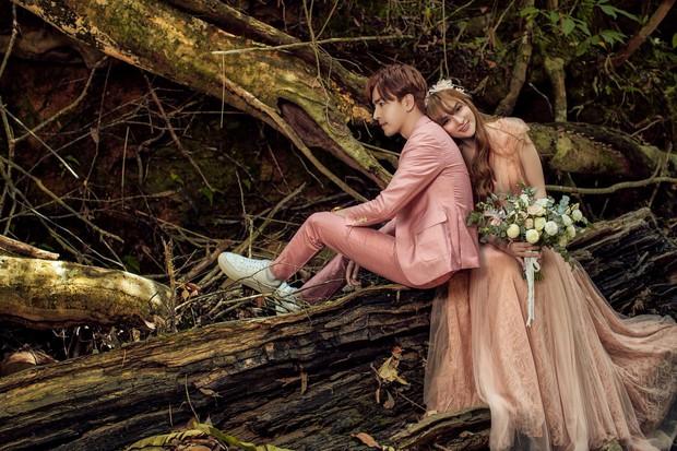 Trọn bộ ảnh cưới đẹp long lanh của Thu Thủy và ông xã kém 10 tuổi trước ngày trọng đại - Ảnh 1.