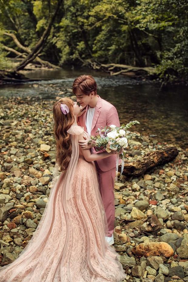 Trọn bộ ảnh cưới đẹp long lanh của Thu Thủy và ông xã kém 10 tuổi trước ngày trọng đại - Ảnh 5.