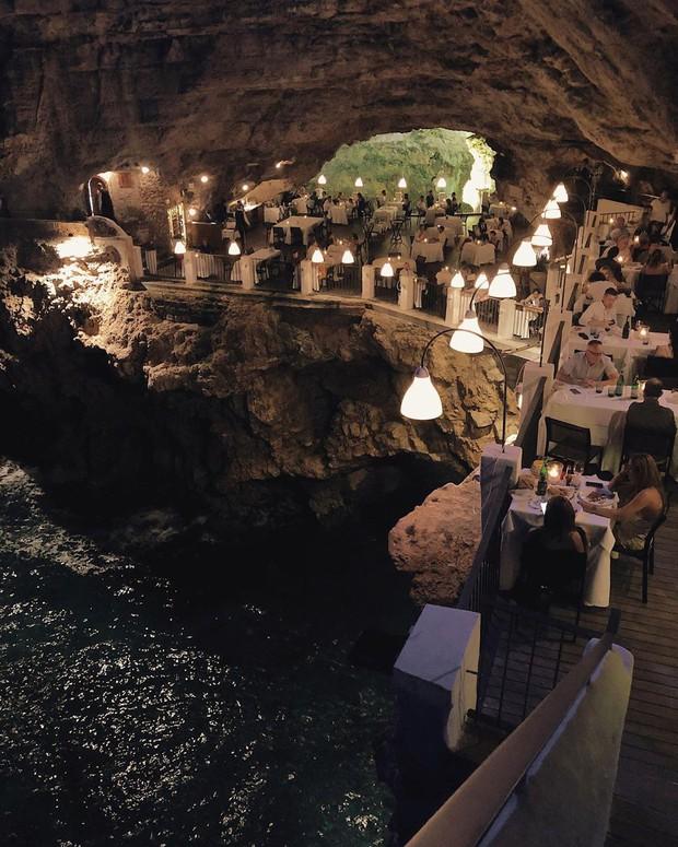 Nhà hàng trong hang động lãng mạn nhất nước Ý: Có khả năng gây mê cao cho bất kì cặp đôi nào hẹn hò tại đây - Ảnh 13.