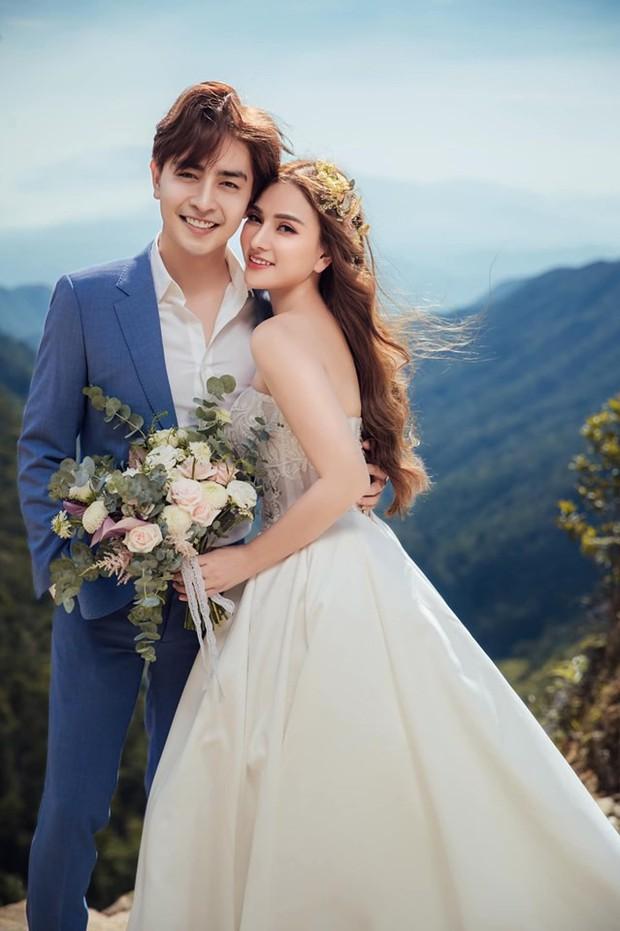 Trọn bộ ảnh cưới đẹp long lanh của Thu Thủy và ông xã kém 10 tuổi trước ngày trọng đại - Ảnh 11.