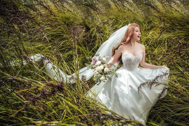 Trọn bộ ảnh cưới đẹp long lanh của Thu Thủy và ông xã kém 10 tuổi trước ngày trọng đại - Ảnh 7.
