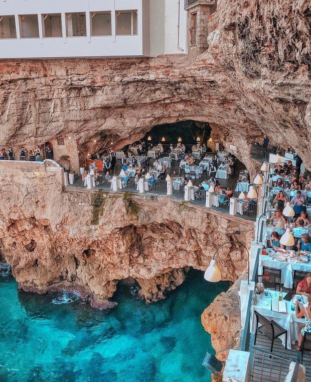 Nhà hàng trong hang động lãng mạn nhất nước Ý: Có khả năng gây mê cao cho bất kì cặp đôi nào hẹn hò tại đây - Ảnh 14.