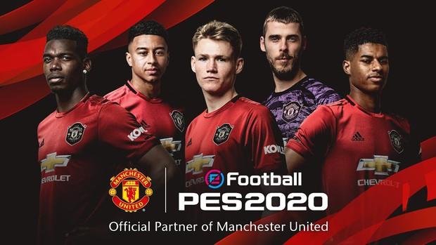 Manchester United chính thức trở lại trong PES 2020: Fan Quỷ Đỏ mãn nhãn với sân bãi và các ngôi sao đẹp như mơ - Ảnh 1.