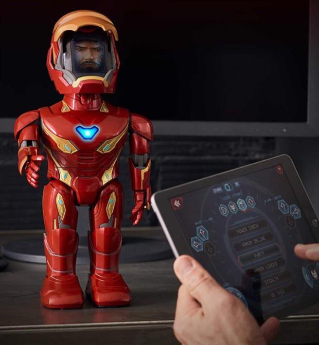Xiaomi ra mắt robot Iron Man MARK50, có thể di chuyển, cử động tay chân nhưng mặt hơi thộn - Ảnh 3.