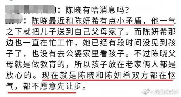 Trần Hiểu mâu thuẫn với Trần Nghiên Hy, căng thẳng tới mức tức giận mang con về quê cho nhà nội chăm sóc? - Ảnh 2.
