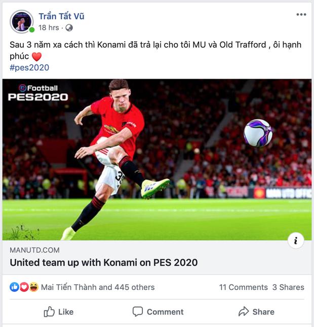 Manchester United chính thức trở lại trong PES 2020: Fan Quỷ Đỏ mãn nhãn với sân bãi và các ngôi sao đẹp như mơ - Ảnh 5.