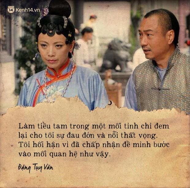Ảnh Hậu TVB Đặng Tụy Văn và cả sự nghiệp ân hận vì là tiểu tam: Mãi tôi mới nhận ra người thứ ba luôn luôn dại dột - Ảnh 7.