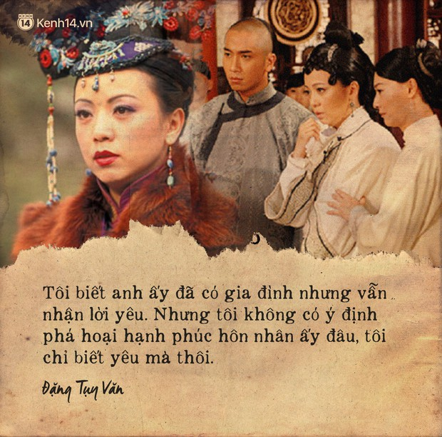 Ảnh Hậu TVB Đặng Tụy Văn và cả sự nghiệp ân hận vì là tiểu tam: Mãi tôi mới nhận ra người thứ ba luôn luôn dại dột - Ảnh 8.