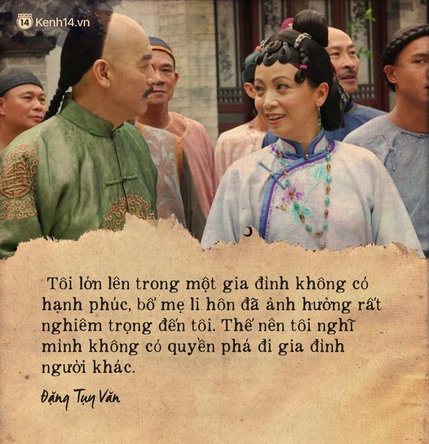 Ảnh Hậu TVB Đặng Tụy Văn và cả sự nghiệp ân hận vì là tiểu tam: Mãi tôi mới nhận ra người thứ ba luôn luôn dại dột - Ảnh 10.