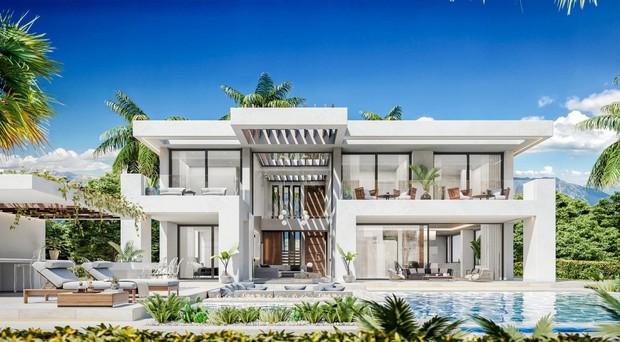 Đột nhập dinh thự trị giá 37 tỷ đồng mới tậu của Ronaldo: Nội thất chất tới từng chi tiết, như tòa lâu đài tráng lệ trước biển Địa Trung Hải - Ảnh 1.