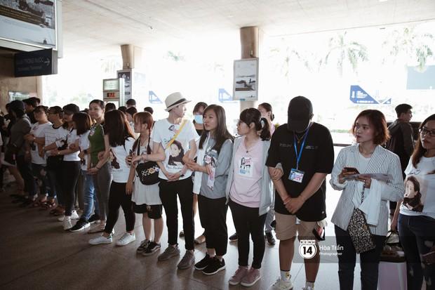 Mỹ nhân Chiếc lá bay Baifern đẹp cực phẩm, diện áo trễ nải khoe vai gầy gợi cảm giữa đám đông fan Việt tại sân bay Tân Sơn Nhất - Ảnh 16.