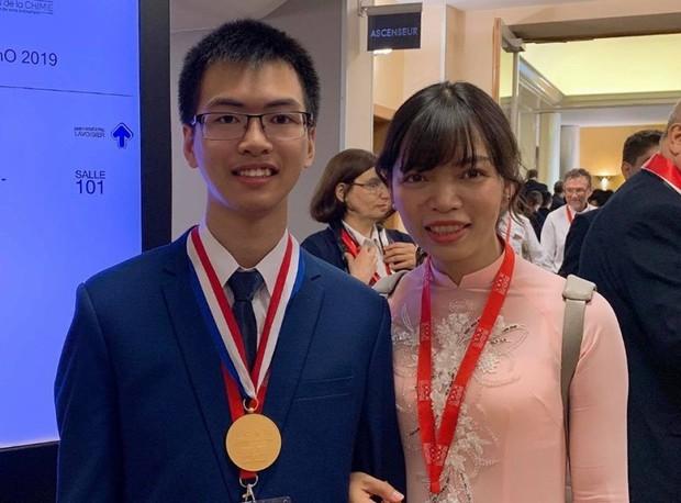 Việt Nam đạt 2 HCV, 2 HCB Olympic Hoá quốc tế - Ảnh 1.