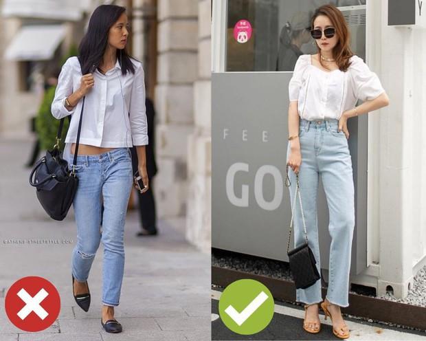4 kiểu ăn mặc sau không xấu, nhưng nàng thấp bé cứ xác định sẽ bị dìm dáng tơi tả nếu áp dụng - Ảnh 2.