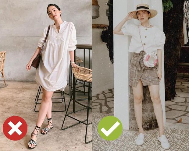 4 kiểu ăn mặc sau không xấu, nhưng nàng thấp bé cứ xác định sẽ bị dìm dáng tơi tả nếu áp dụng - Ảnh 3.