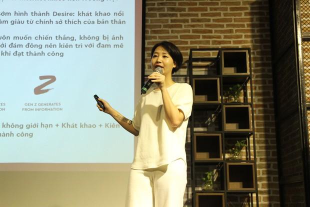 Trang Hý lần đầu tiên bật mí cách kiếm tiền online tại hội thảo về GenZ! - Ảnh 3.