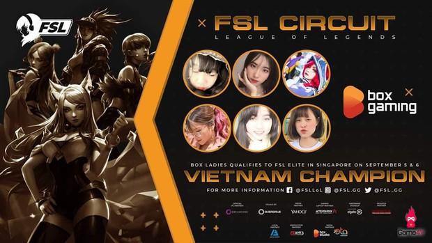 Box Ladies: Những bóng hồng xinh đẹp đại diện Liên Minh Huyền Thoại Việt Nam tham dự FSL - Họ là ai? - Ảnh 1.