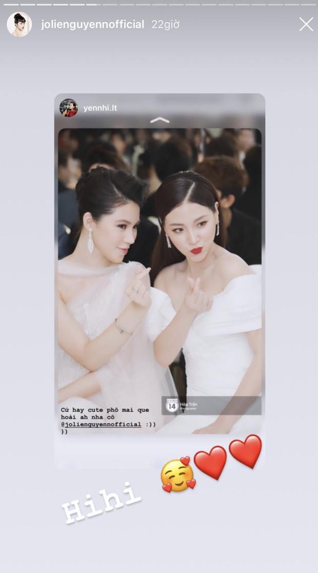 Bị ném đá vì tung ảnh dìm mỹ nhân Chiếc lá bay trong một khung hình, Jolie Nguyễn đã có động thái nhanh chóng - Ảnh 7.