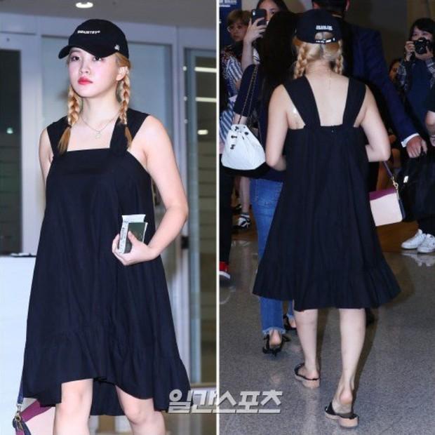 Mặc đồ thoải mái ra sân bay, Yeri lại bị netizen dè bỉu là trông như bà chửa - Ảnh 2.