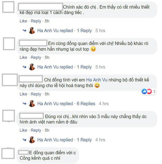 """Hà Anh chê Top 3 quốc phục của Hoàng Thùy tại Miss Universe: """"Chỉ mang đi lễ hội hóa trang quốc tế thôi"""" - Ảnh 3."""