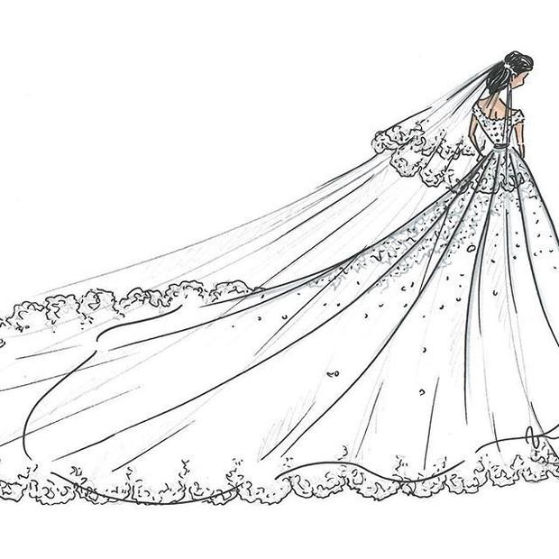 Cô gái gốc Việt kết hôn với cháu trai Công nương Grace Kelly: Cô dâu Hoàng gia diện 3 bộ váy cưới đơn giản nhất từ trước đến giờ - Ảnh 5.