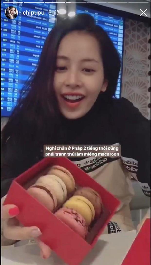 Hễ Chi Pu đi nước ngoài là story Instagram chỉ thấy… ăn với ăn, lần đi Đức vừa xong cũng không phải ngoại lệ - Ảnh 2.