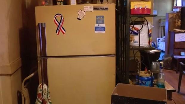 Dọn nhà mẹ quá cố, con trai phát hiện xác ướp bí ẩn nằm trong tủ lạnh suốt mấy chục năm - Ảnh 2.