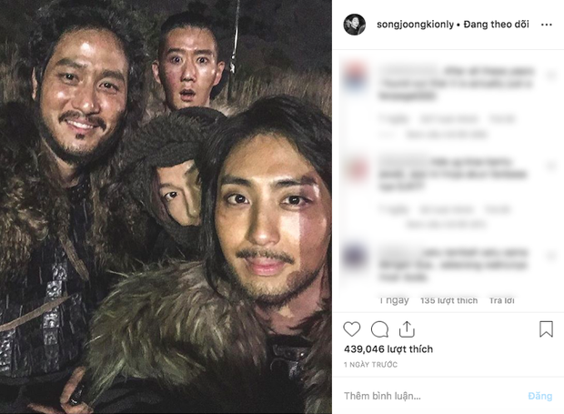 Náo loạn tin Song Joong Ki đăng ảnh vui vẻ lên Instagram 7 triệu follower giữa bão ly hôn, nhưng sự thật là gì? - Ảnh 1.