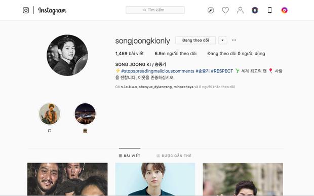 Náo loạn tin Song Joong Ki đăng ảnh vui vẻ lên Instagram 7 triệu follower giữa bão ly hôn, nhưng sự thật là gì? - Ảnh 3.