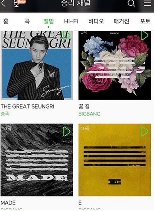 """""""Phũ"""" như YG: Làm hành động """"ân đoạn nghĩa tuyệt"""" với B.I trên các trang nhạc số dù vẫn """"nương tay"""" với Seungri - Ảnh 4."""