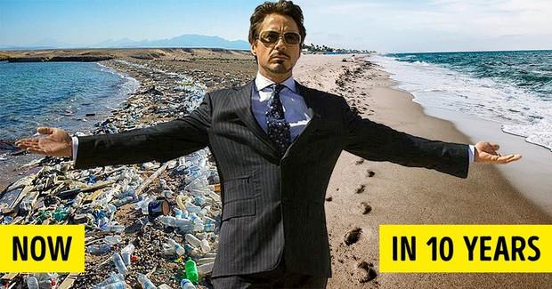 Kế hoạch giải cứu Trái đất trong 10 năm của Robert Downey Jr - Iron Man từ phim bước ra đời là đây chứ đâu - Ảnh 1.