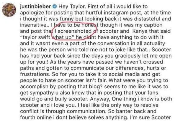 Biến mới: Justin Bieber bị bóc phốt nói dối không chớp mắt, đánh lừa dư luận nhằm hạ bệ Taylor Swift - Ảnh 3.