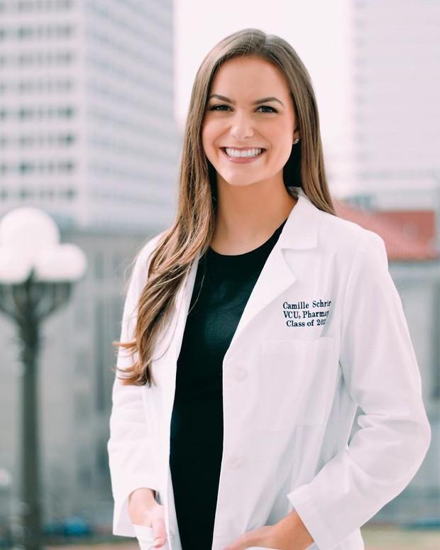 Dược sĩ 24 tuổi giành danh hiệu hoa hậu Virginia nhờ thực hiện thí nghiệm hóa học trong phần thi tài năng - Ảnh 5.