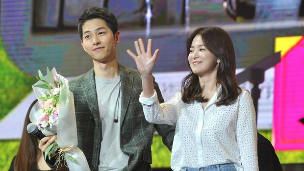 Tuyên bố dừng hoạt động vì ly hôn, ai ngờ Song Joong Ki vẫn âm thầm tham gia hoạt động mới - Ảnh 2.