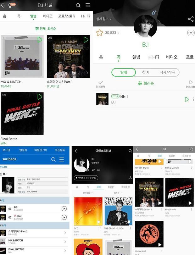 """""""Phũ"""" như YG: Làm hành động """"ân đoạn nghĩa tuyệt"""" với B.I trên các trang nhạc số dù vẫn """"nương tay"""" với Seungri - Ảnh 1."""