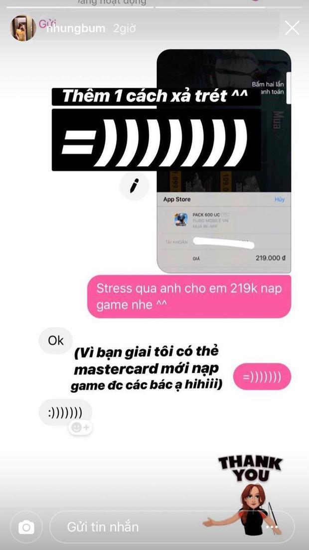 Chiều bạn gái như Văn Toàn: Cho cả tiền nạp game để xả stress - Ảnh 1.