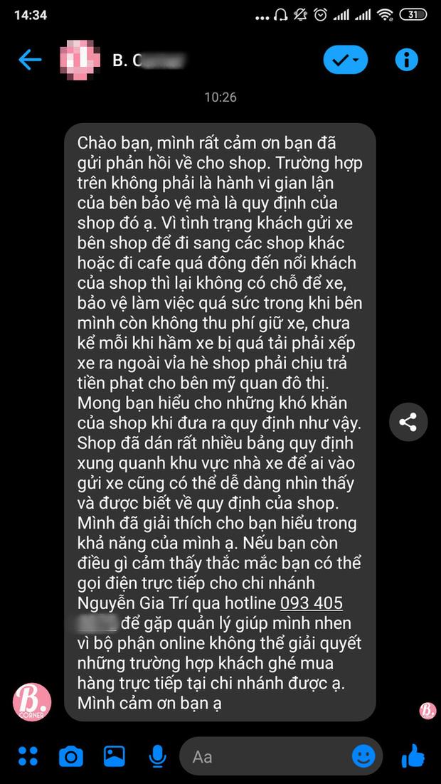 Shop đồ lưu niệm ở Sài Gòn thu phí gửi xe 200k vì khách không mua hàng: Nhân viên chứng kiến sự việc nói gì? - Ảnh 4.
