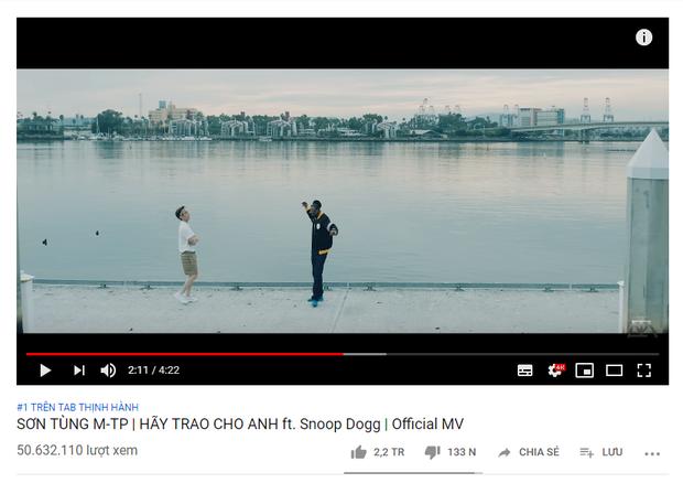 Sinh nhật ngọt ngào của Sơn Tùng: Hãy Trao Cho Anh thiết lập kỉ lục 50 triệu views của Vpop! - Ảnh 1.