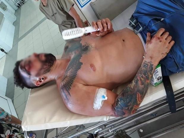 Bệnh viện Đà Nẵng lên tiếng sau khi bị tố không cấp cứu cho người nước ngoài bị tai nạn vì không có tiền và người thân - Ảnh 1.