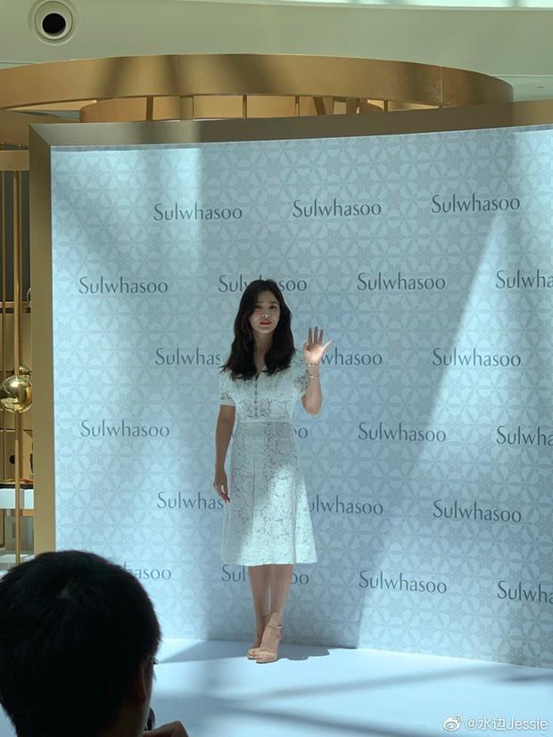 HOT: Song Hye Kyo lần đầu lộ diện sau vụ ly hôn ngàn tỷ, nhan sắc cực phẩm nhưng lại tiều tụy đến xót xa - Ảnh 4.