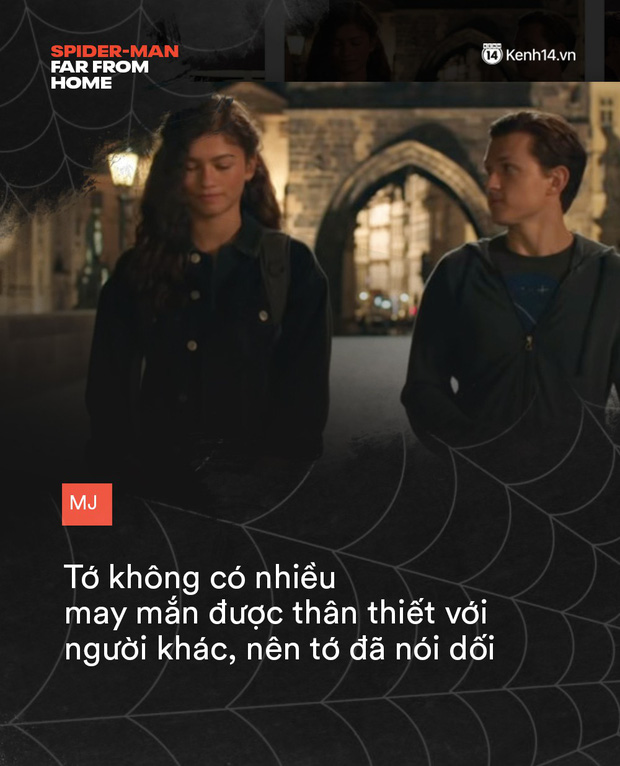 14 câu thoại cảm động trong FAR FROM HOME: Cậu để ý tớ chỉ vì tớ là Spider-Man à? - Ảnh 14.