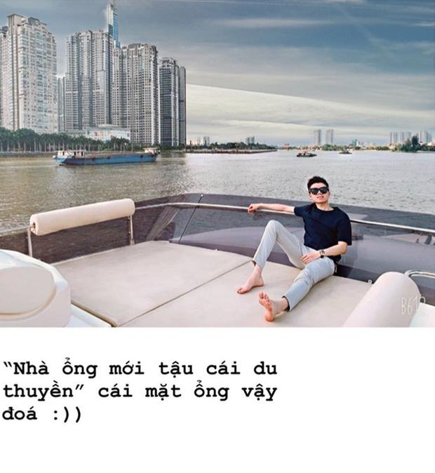 Phan Hoàng khoe du thuyền gia đình mới tậu, ngày càng quấn quýt với bạn gái Khánh Hà sau sóng gió chia tay - Ảnh 3.