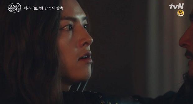 Tình cha con tương tàn: Song Joong Ki và Jang Dong Gun đối đầu siêu gắt trong Arthdal Niên Sử Kí tập 11 - Ảnh 11.