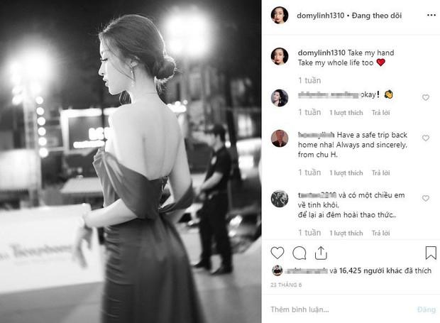 Trước khi lộ ảnh hôn công khai thiếu gia Dương Bảo Hưng, Hoa hậu Đỗ Mỹ Linh úp mở chuyện yêu đương mà không ai hay biết - Ảnh 3.