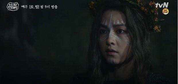 Tình cha con tương tàn: Song Joong Ki và Jang Dong Gun đối đầu siêu gắt trong Arthdal Niên Sử Kí tập 11 - Ảnh 14.