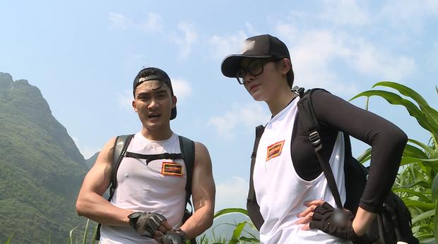 Cuộc đua kỳ thú: Các Hoa hậu tái mặt vì leo 60m thang dây, S.T - Bình An về đích đầu tiên! - Ảnh 3.