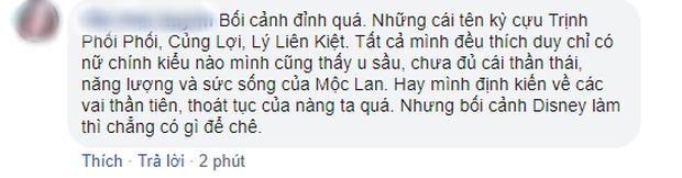 Netizen Trung lẫn Việt đua nhau nổi da gà khi thấy Lưu Diệc Phi trong Mulan: Có hi vọng sau cú vả Ariel rồi! - Ảnh 11.