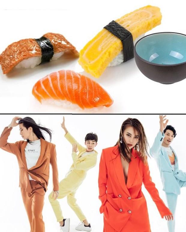 Đầu tư bộ ảnh cool ngầu, dàn Running Man lại bị liên tưởng đến một... đĩa sushi! - Ảnh 2.